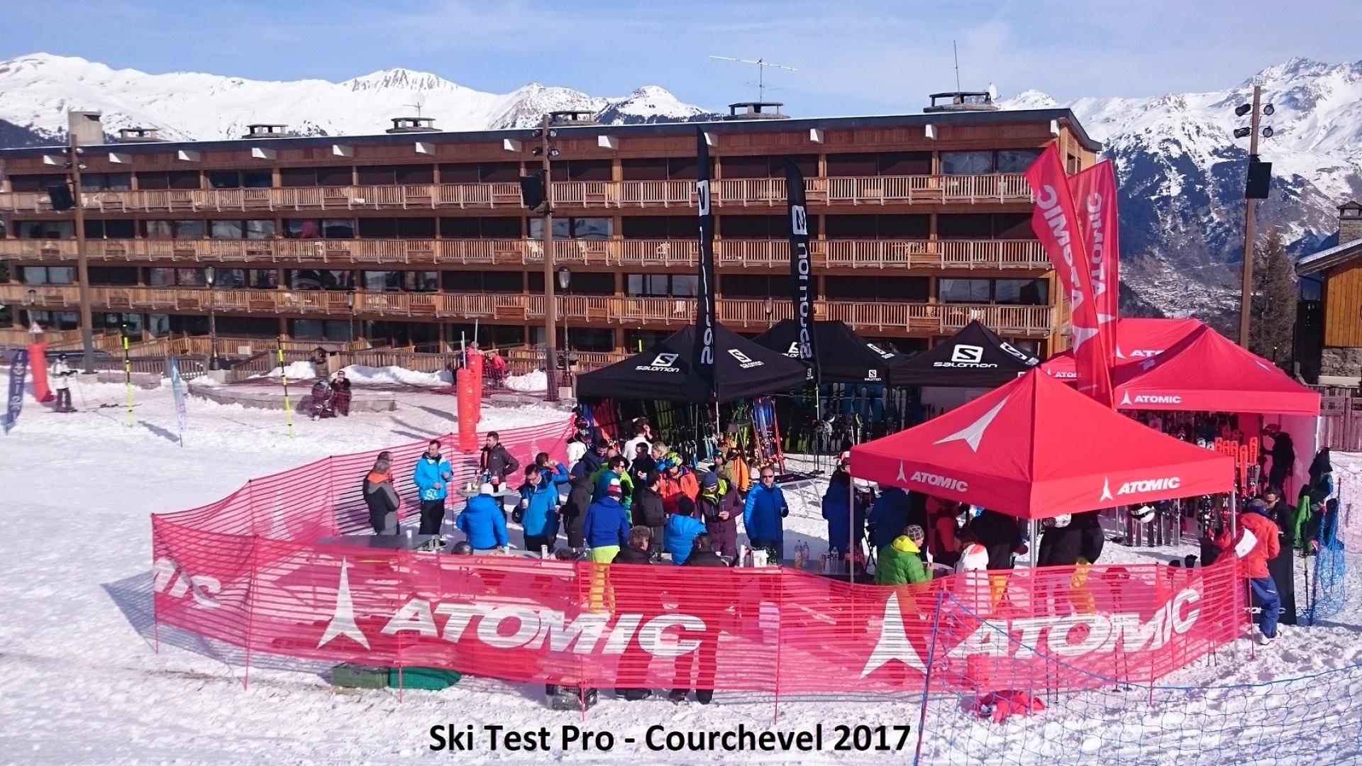 Ski test Pro – Courchevel 2017