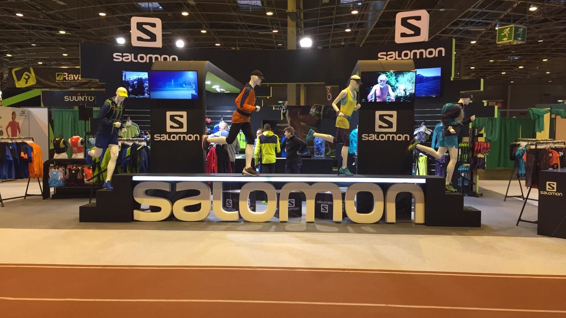 Stand Salomon – Running Expo 2016