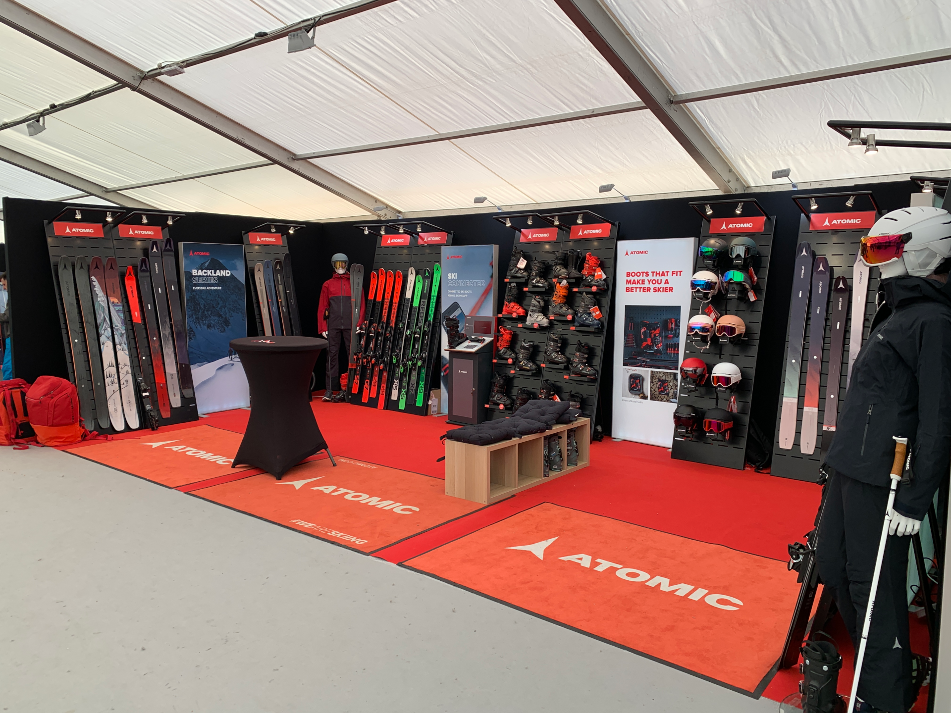Ski Force Pro Méribel 2020 Showroom Atomic